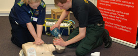 CPR Demonstration by Trent District CFR