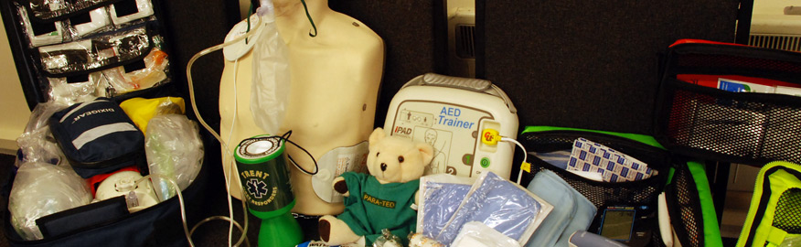 Selection of Equipment used by Trent District CFR